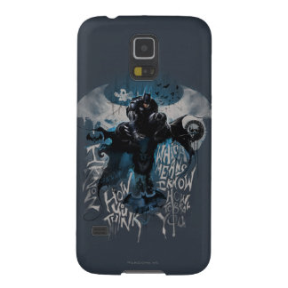 Batman Graffiti Graphic - I Know How You Think Galaxy S5 Case