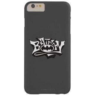 Batman | Graffiti Name Logo Barely There iPhone 6 Plus Case