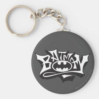 Batman | Graffiti Name Logo Key Ring