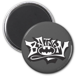 Batman | Graffiti Name Logo Magnet