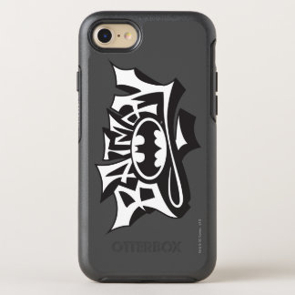 Batman   Graffiti Name Logo OtterBox Symmetry iPhone 8/7 Case