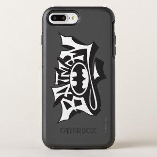 Batman   Graffiti Name Logo OtterBox Symmetry iPhone 8 Plus/7 Plus Case