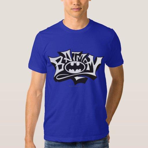 Batman | Graffiti Name Logo T Shirt