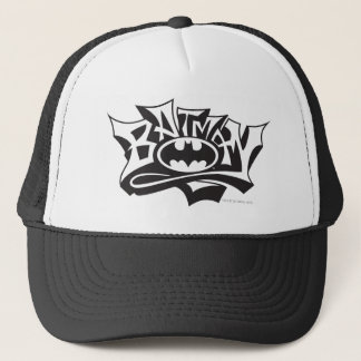 Batman | Graffiti Name Logo Trucker Hat