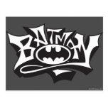 Batman Graffiti Name Post Card