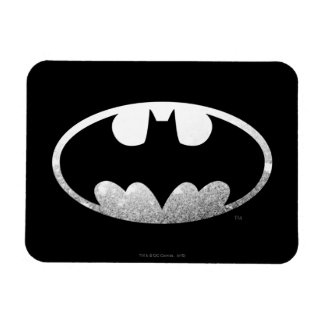 Batman Grainy Logo Rectangular Photo Magnet
