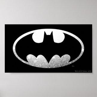 Batman Grainy Logo Poster