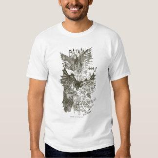 Batman Graphic Novel Pencil Sketch T-shirt