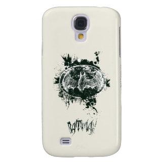 Batman Grunge Splatter Sketch Galaxy S4 Case