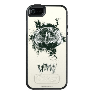 Batman Grunge Splatter Sketch OtterBox iPhone 5/5s/SE Case