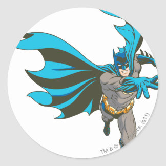 Batman Hand Out Classic Round Sticker