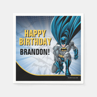 Batman | Happy Birthday Disposable Napkins