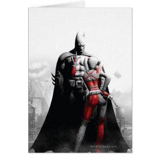 Batman & Harley Greeting Card