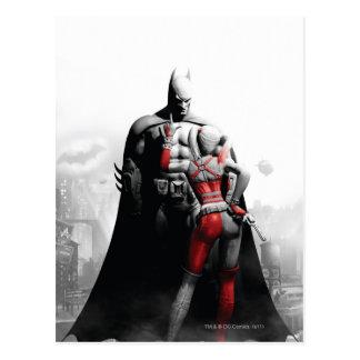 Batman & Harley Postcard