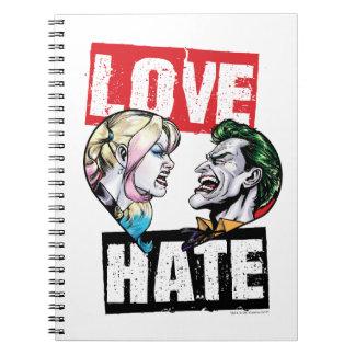 Batman | Harley Quinn & Joker Love/Hate Notebook