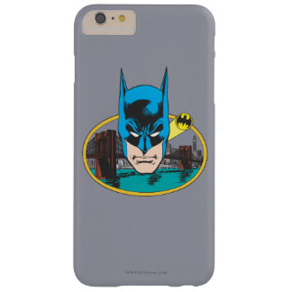 Batman Head 2 Barely There iPhone 6 Plus Case