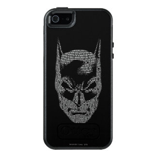 Batman Head Mantra OtterBox iPhone 5/5s/SE Case