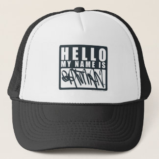 Batman | Hello My Name is Batman Logo Trucker Hat
