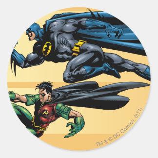 Batman Hyperdrive - 19B Round Sticker