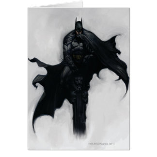 Batman Illustration Card