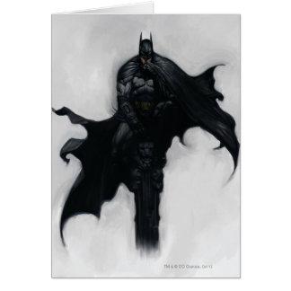 Batman Illustration Greeting Card