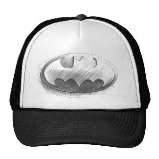 Batman Insignia Drawing Cap