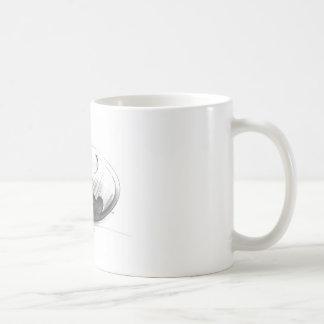 Batman Insignia Drawing Coffee Mugs
