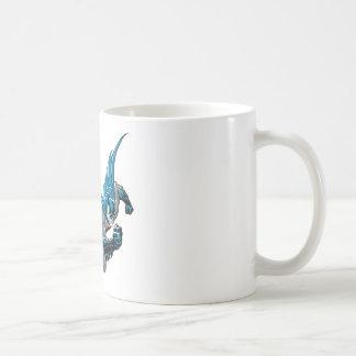 Batman into action basic white mug
