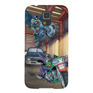 Batman & Joker - Riding Motorcycles Cases For Galaxy S5