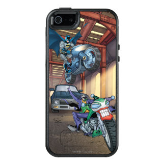Batman & Joker - Riding Motorcycles OtterBox iPhone 5/5s/SE Case