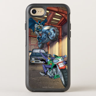 Batman & Joker - Riding Motorcycles OtterBox Symmetry iPhone 8/7 Case