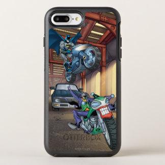 Batman & Joker - Riding Motorcycles OtterBox Symmetry iPhone 8 Plus/7 Plus Case