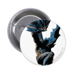 Batman Jumping Down Action Shot 6 Cm Round Badge