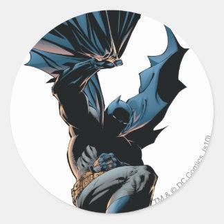 Batman Jumping Down Action Shot Stickers