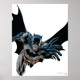 Batman Jumping Forward, Yell Poster