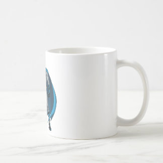 Batman Kicks Basic White Mug