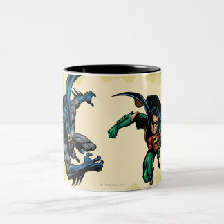 Batman Knight FX - 20B Two-Tone Coffee Mug