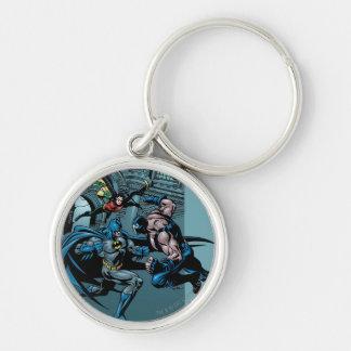 Batman Knight FX - 7 Silver-Colored Round Key Ring