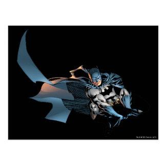 Batman Leaping Forward Postcard