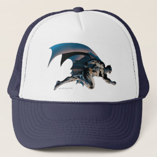Batman Leaping Side View Trucker Hat