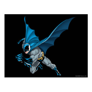 Batman Leaps - Arm Forward Postcard