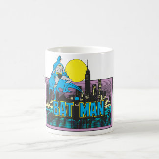 Batman & Letters Coffee Mug