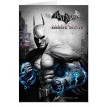 Batman - Lightning Greeting Card