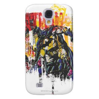 Batman Line Art Collage Galaxy S4 Case