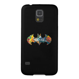 Batman Logo Neon/80s Graffiti Galaxy S5 Case
