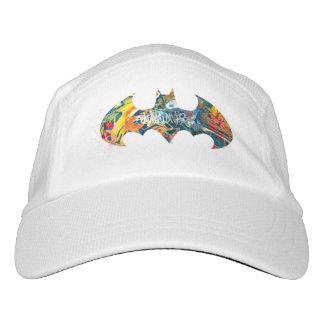 Batman Logo Neon/80s Graffiti Hat