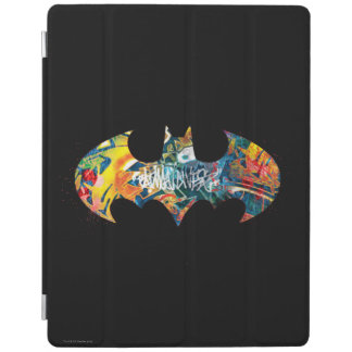 Batman Logo Neon/80s Graffiti iPad Cover