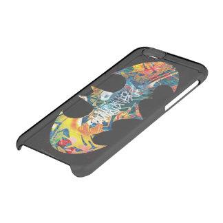 Batman Logo Neon/80s Graffiti iPhone 6 Plus Case