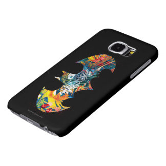 Batman Logo Neon/80s Graffiti Samsung Galaxy S6 Cases