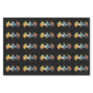 Batman Logo Neon/80s Graffiti Tissue Paper